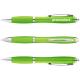 Nash Kugelschreiber mit farbigem Schaft und Griff - limone