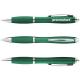Nash Kugelschreiber mit farbigem Schaft und Griff - grün