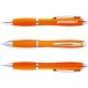 Nash Kugelschreiber mit farbigem Schaft und Griff - orange
