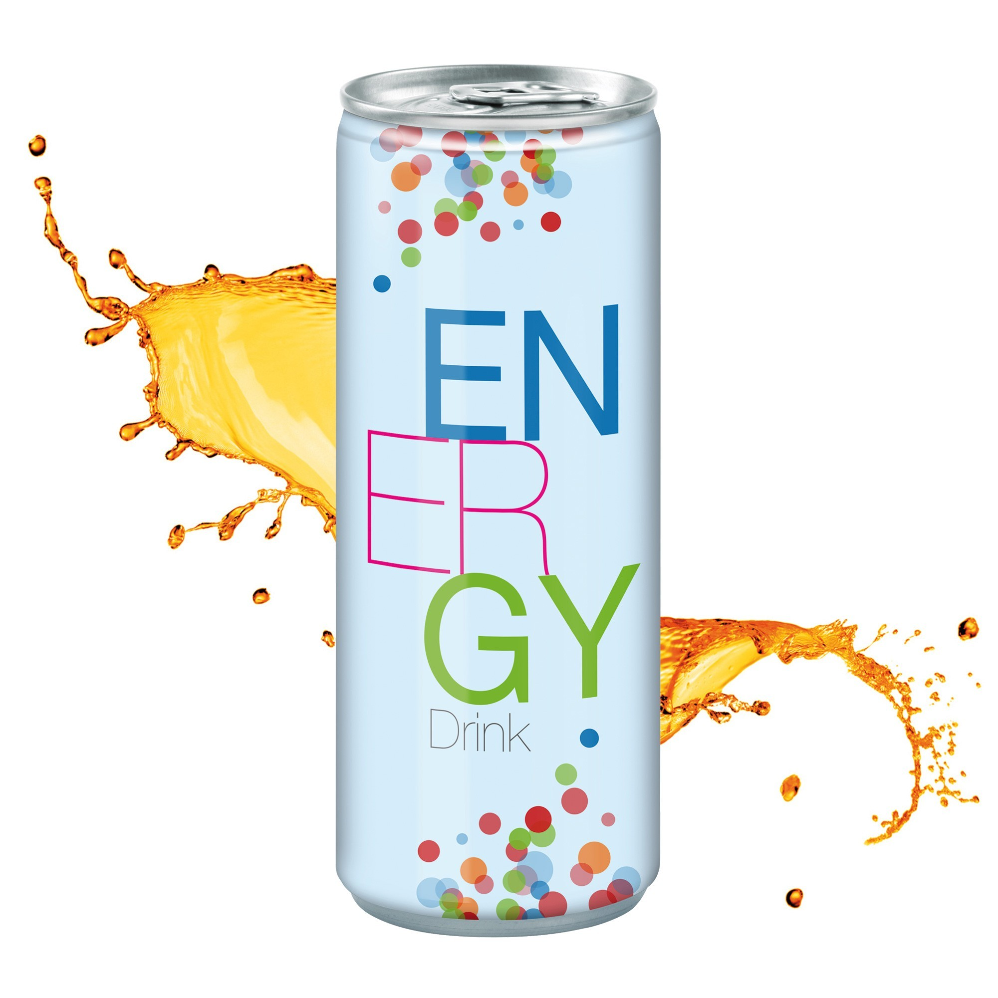 Energy Drink, 250 ml, Fullbody, Ansicht 2