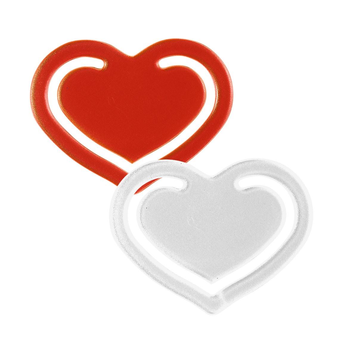 Papierklammer Herz