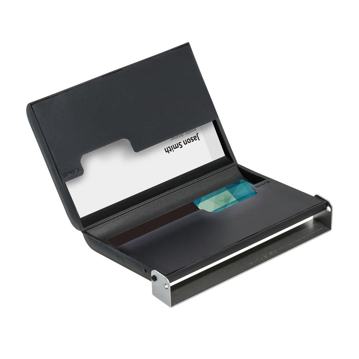 Visitenkartenbox REFLECTS-RESENDE SILVER