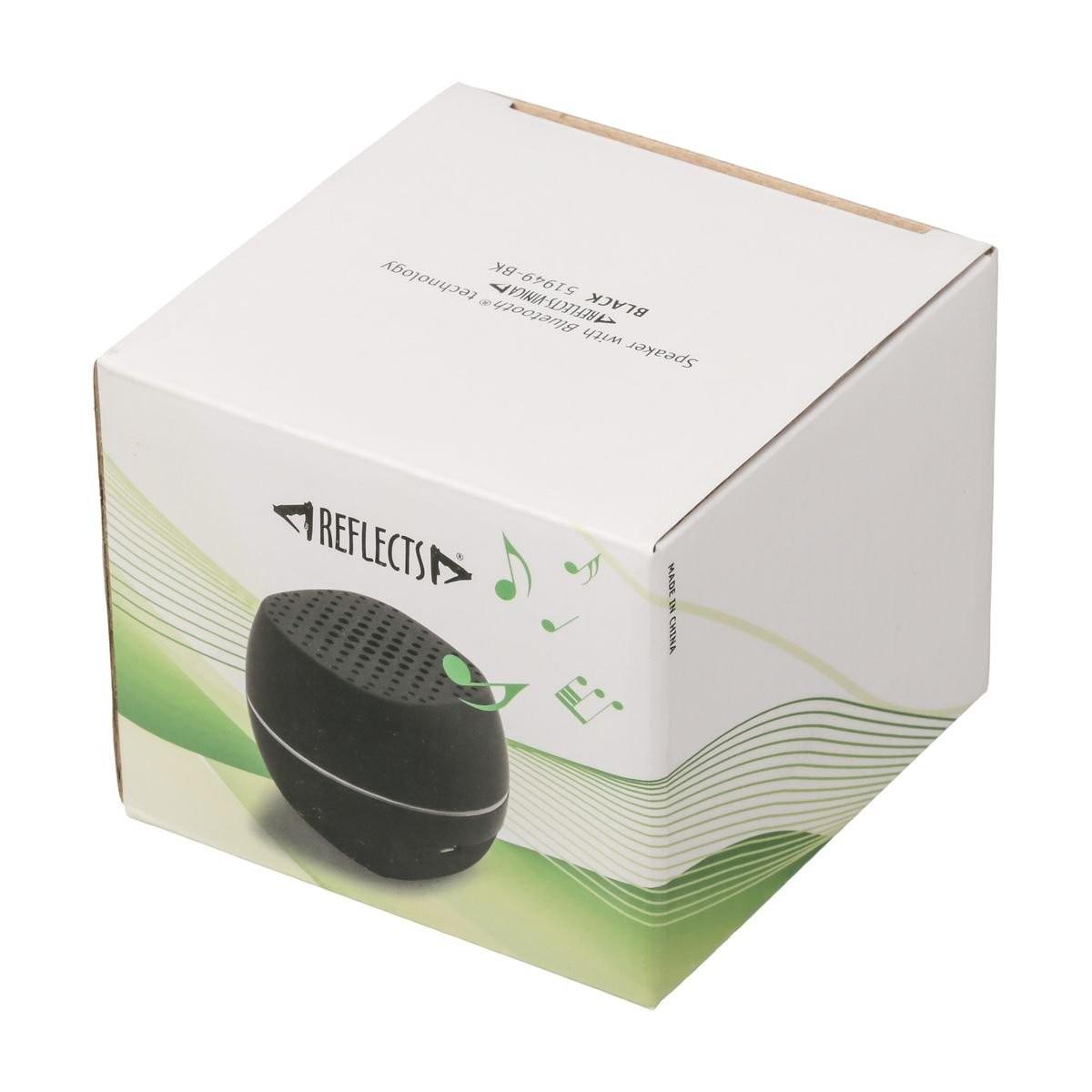 Lautsprecher mit Bluetooth® Technologie REFLECTS-VINICA BLACK, Ansicht 2