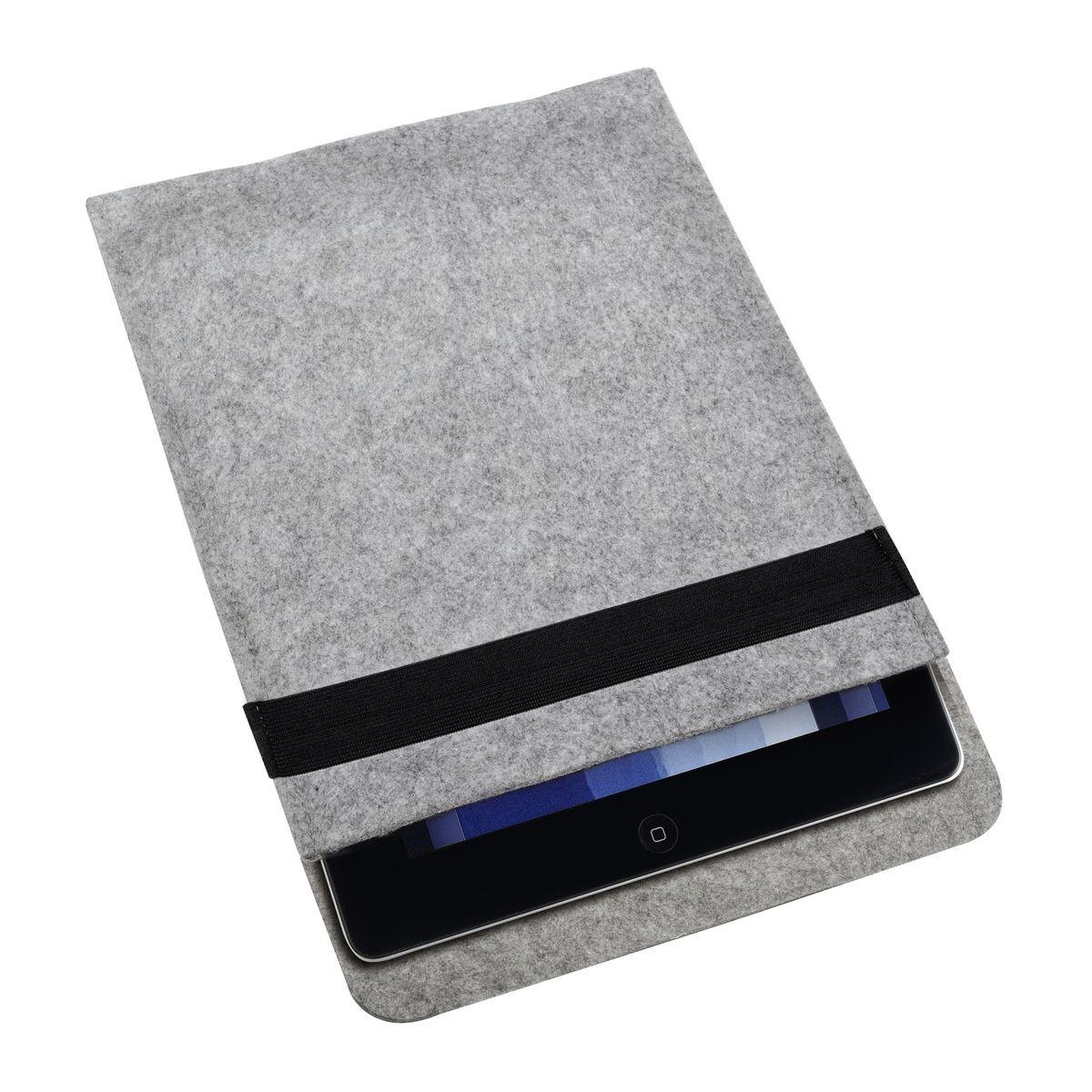 Tabletcomputertasche REFLECTS-GADSDEN LIGHT GREY, Ansicht 4