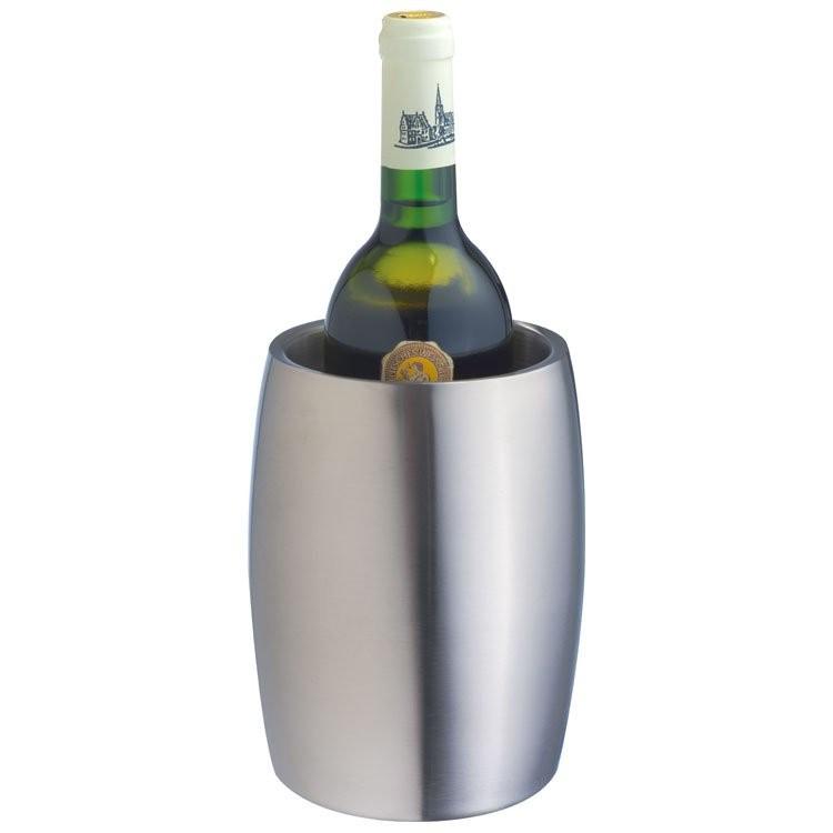 Weinkühler aus Edelstahl, doppelwandig, Ansicht 3