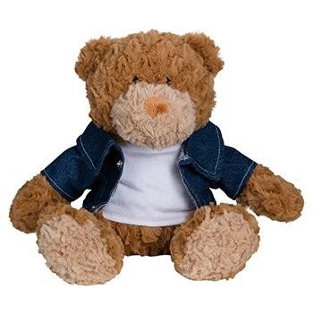 Jeans-Jacke für Plüschtiere Gr. M, Ansicht 2