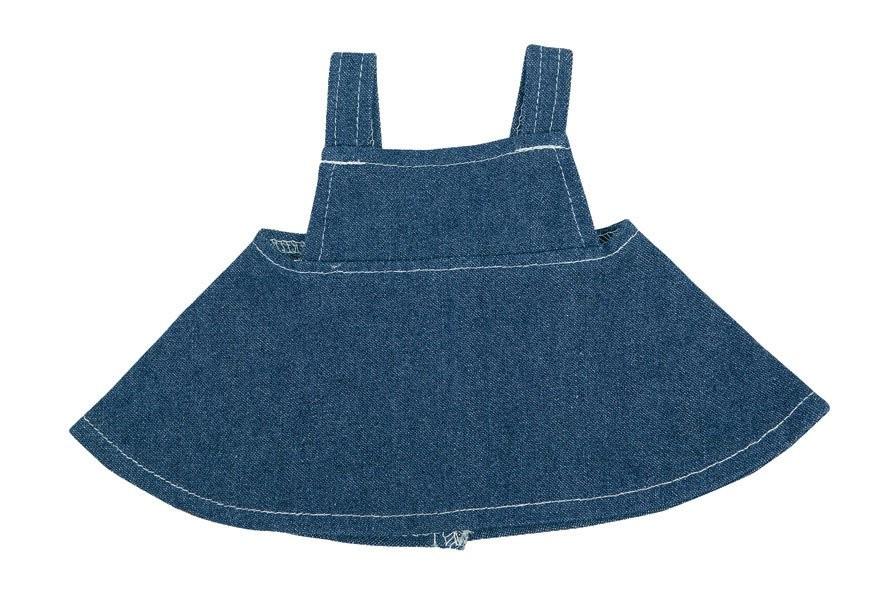 Jeans-Rock für Plüschtiere