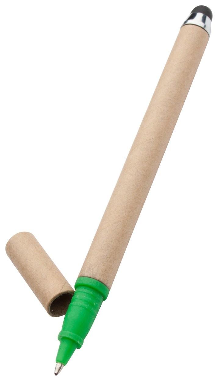 Recycling Touchpen und Kugelschreiber EcoTouch, Ansicht 3