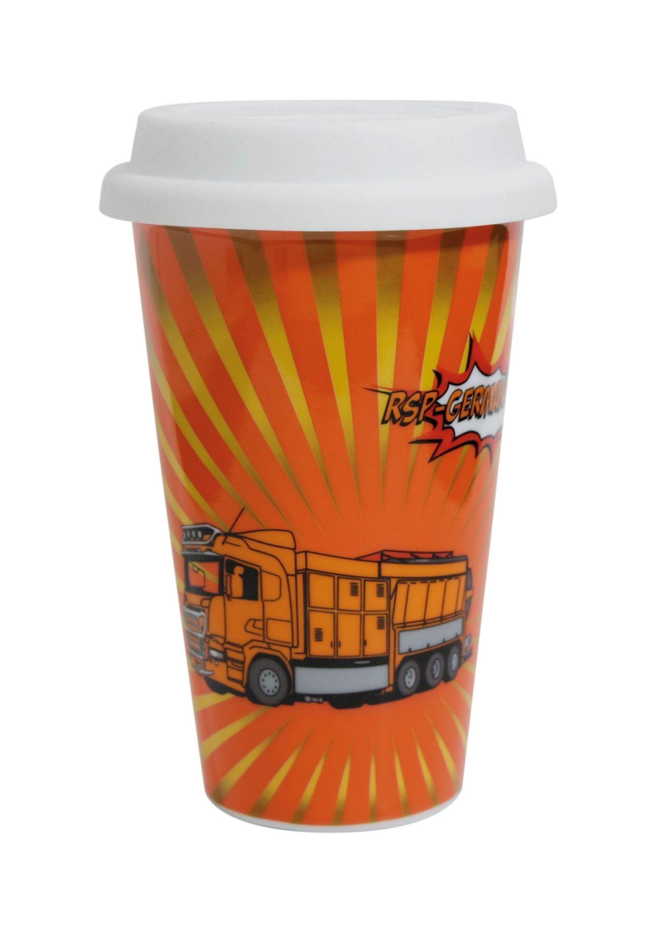 Porzellanbecher Coffee2Go, doppelwandig