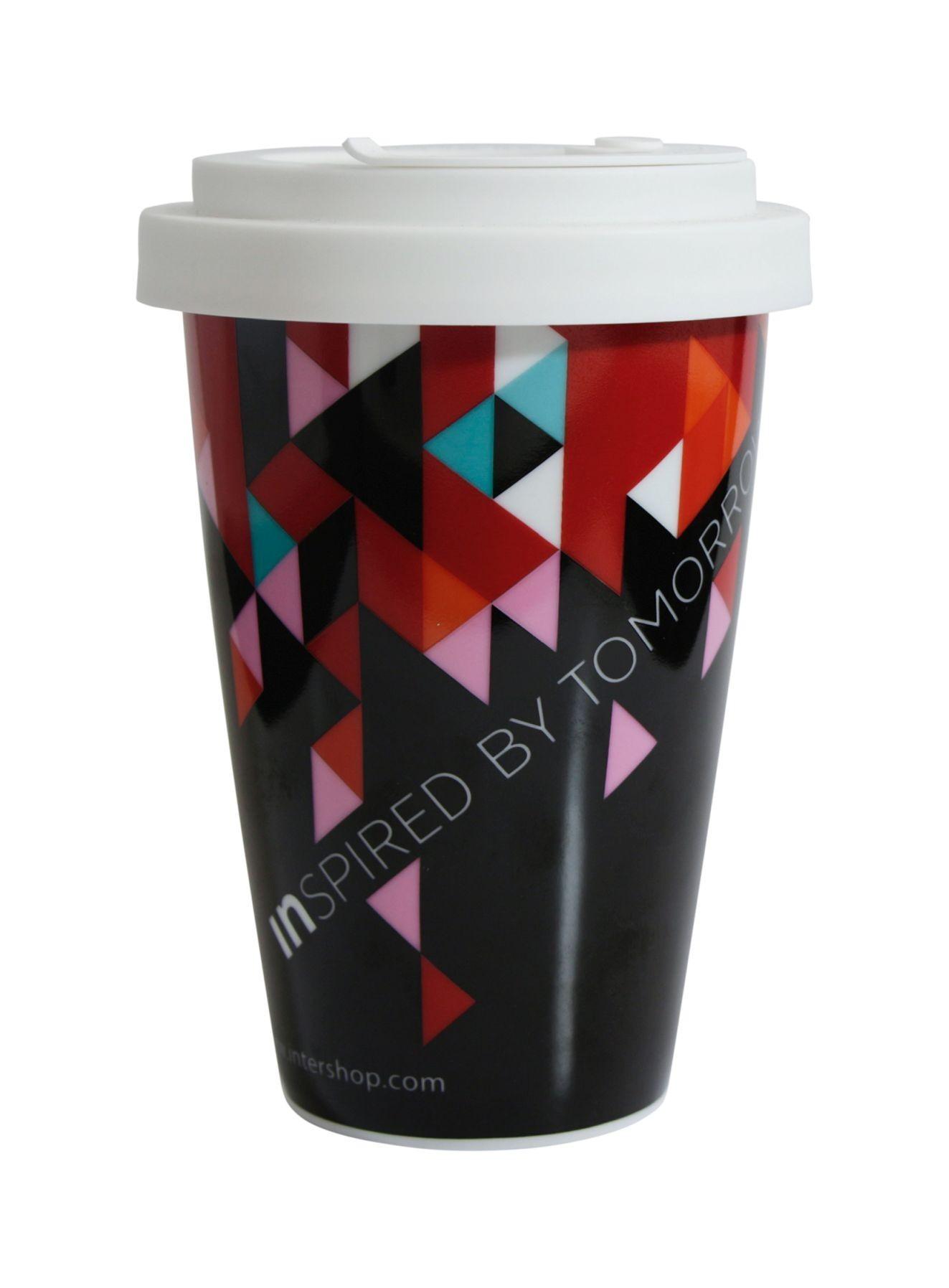 Porzellanbecher Coffee2Go, Ansicht 2