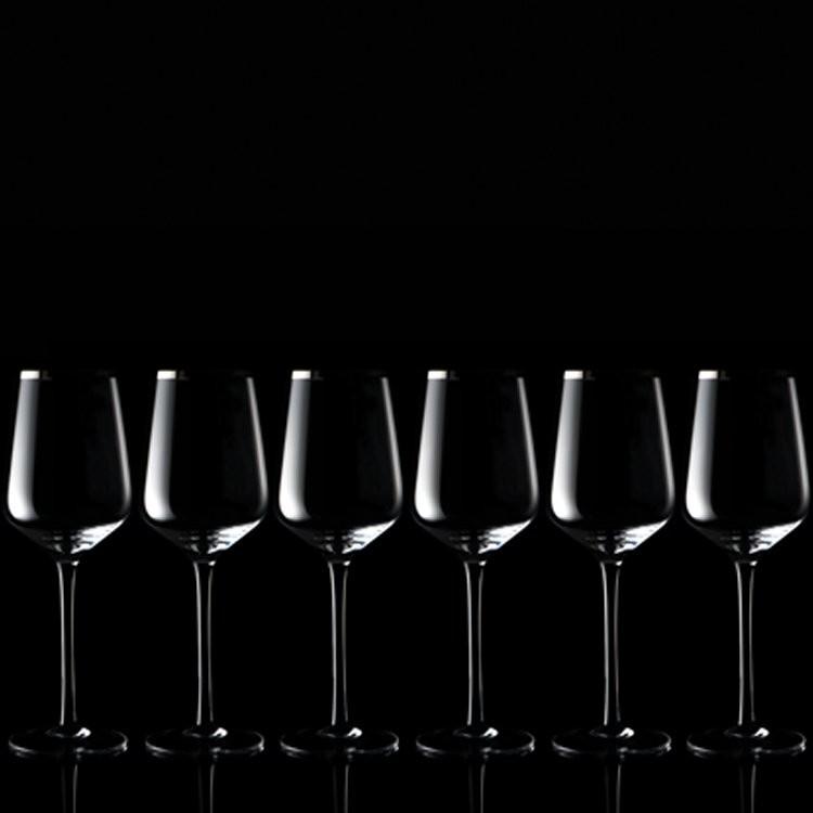 Set aus 6 Weißweingläsern, Ansicht 3