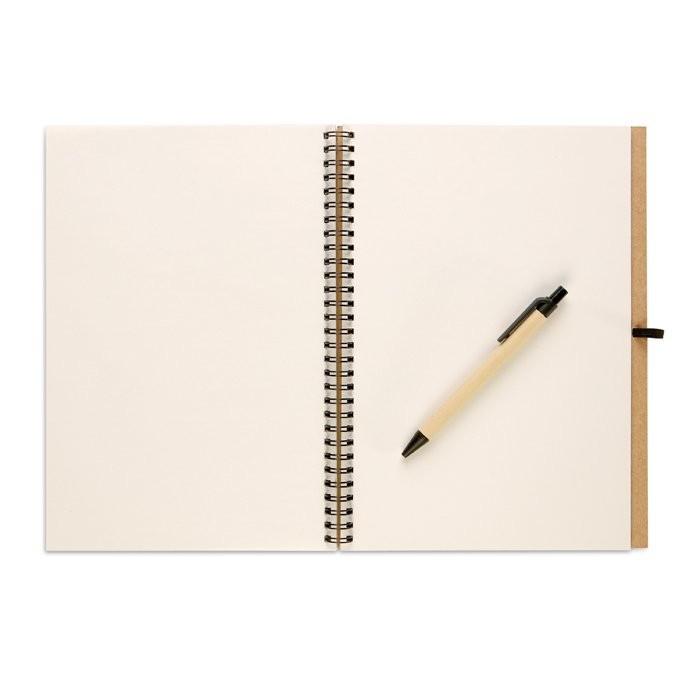 Recyceltes Notizbuch BLOQUERO PLUS, Ansicht 2
