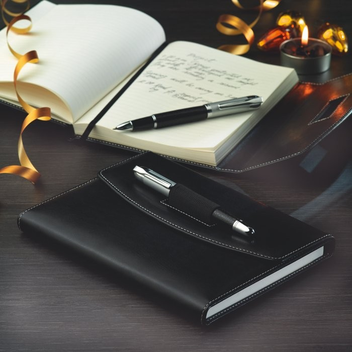 Portfolio mit Kugelschreiber NOVA