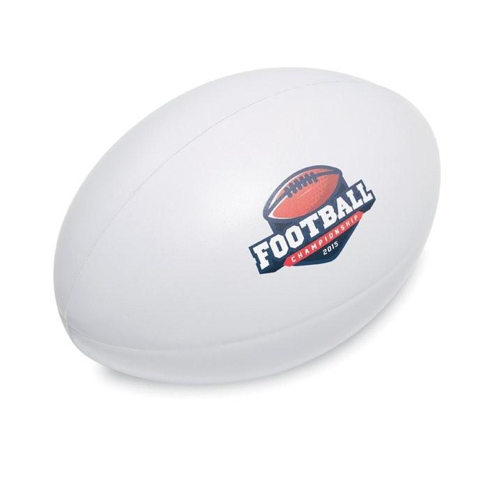 Anti-Stress-Rugbyball MADEROS, Ansicht 2