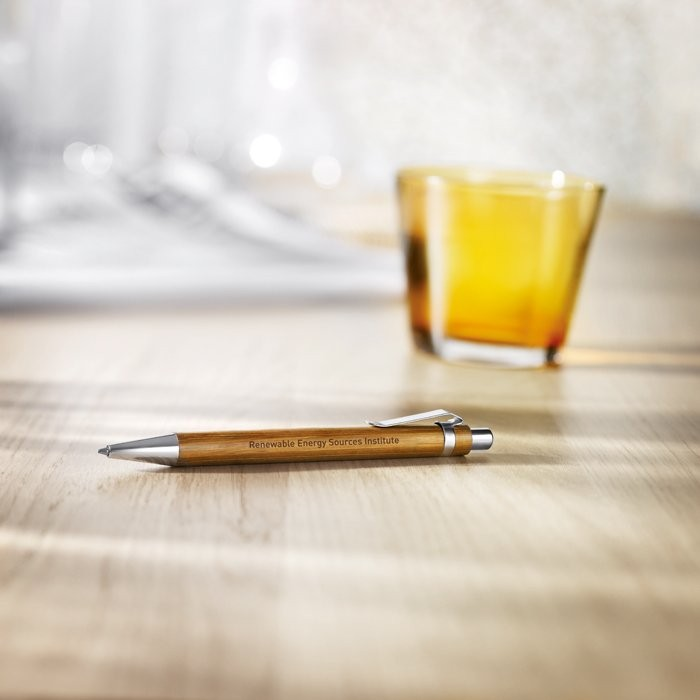 Kugelschreiber aus Bambus SUMATRA, Ansicht 2