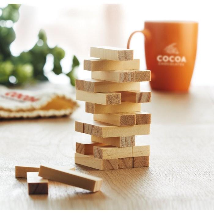 Holzturm Spiel