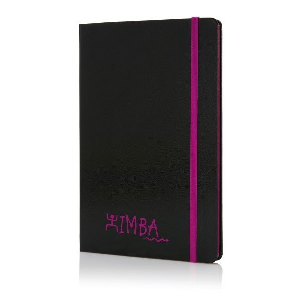 A5 Notizbuch mit farbigem Seitenrand, Ansicht 7