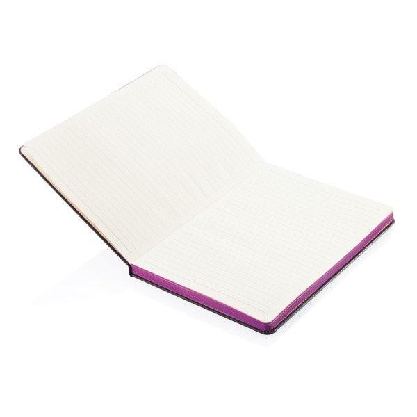 A5 Notizbuch mit farbigem Seitenrand, Ansicht 5
