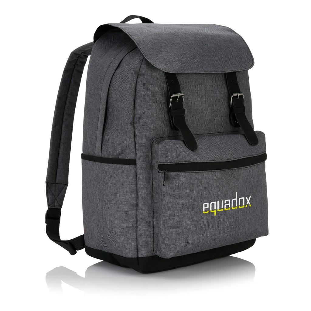 Laptop Rucksack mit magnetischen Schnallenverschlüssen, Ansicht 8