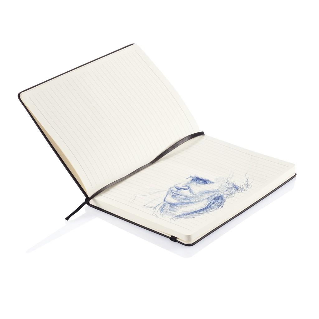 Deluxe Hardcover PU A5 Notizbuch, Ansicht 4