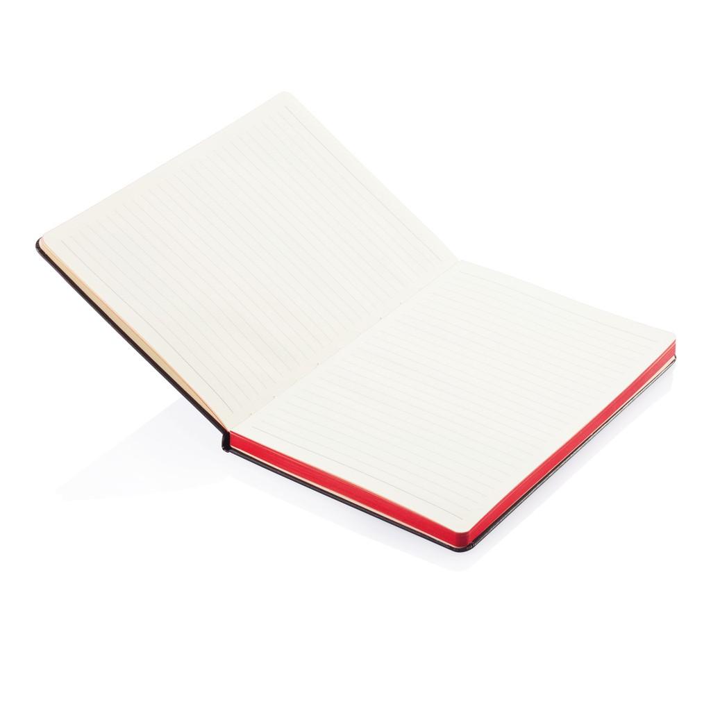 A5 Notizbuch mit farbigem Seitenrand, Ansicht 9