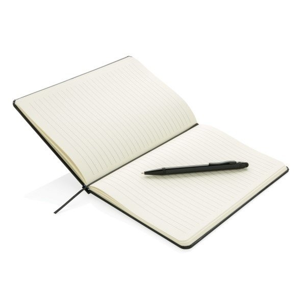 Basic Hardcover A5 Notizbuch mit Stylus, Ansicht 8