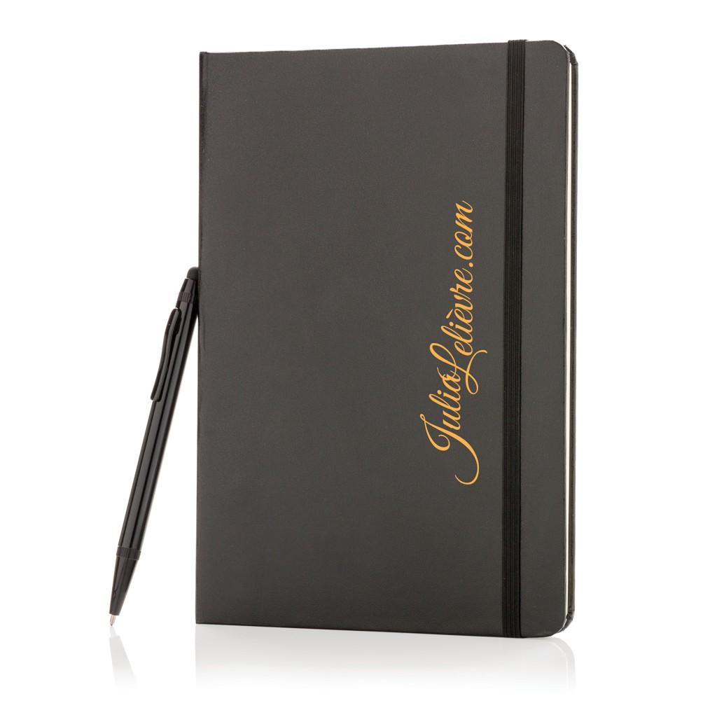 Basic Hardcover A5 Notizbuch mit Stylus, Ansicht 6