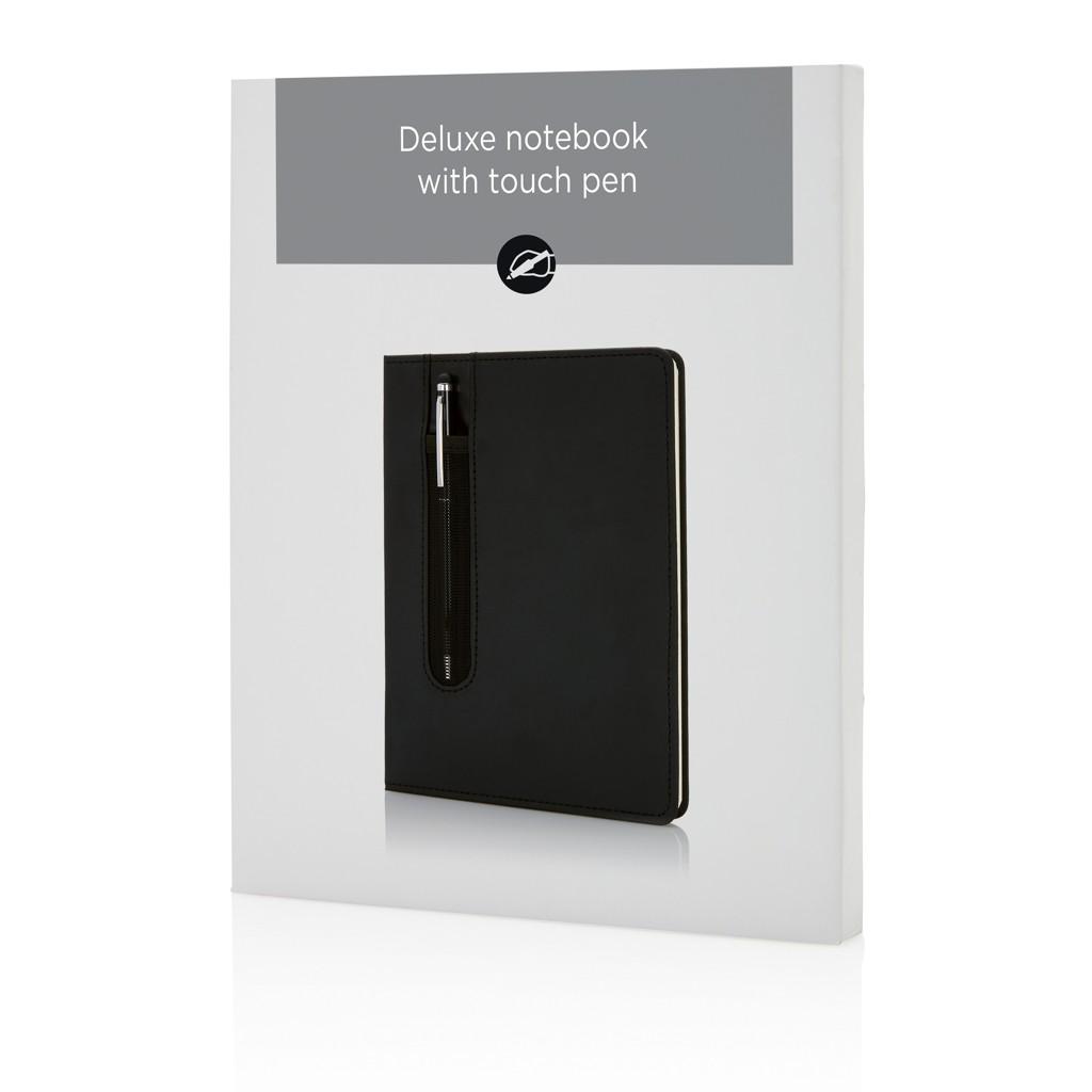 Deluxe A5 Notizbuch mit Stylus, Ansicht 8