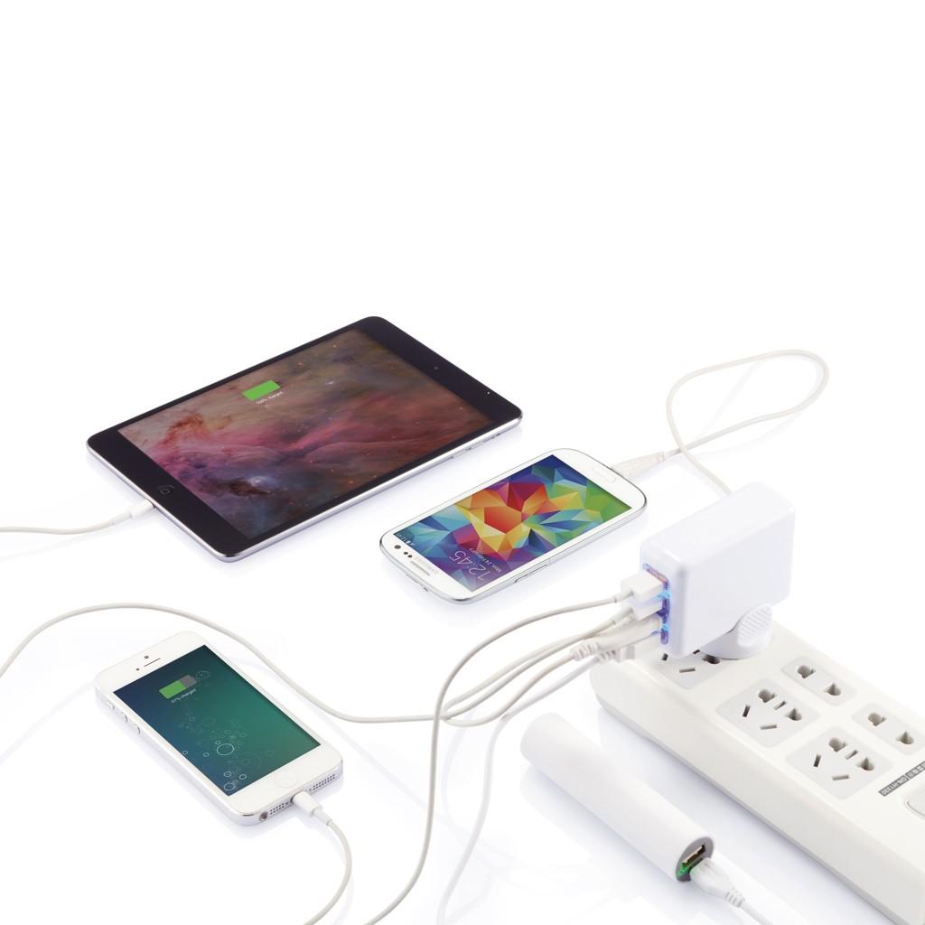 Reiseadapter mit 4fachem USB Anschluss, Ansicht 8