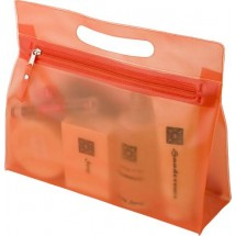"Kulturtasche ""Panorama"" - Orange"