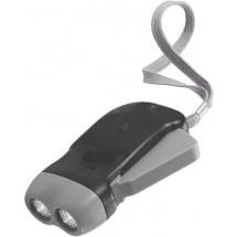 LED-DynamotaschenlampeMission - Schwarz