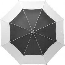 Regenschirm Tina aus Pongee-Seide - Weiß