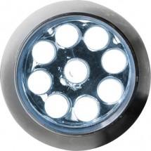 "LED-Lampe ""Master"" - Silber"