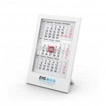 Tisch-Monatskalender Box 3 Complete - weiß