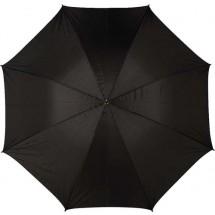 Portierschirm, gerader Holzgriff - Schwarz