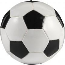 """Fußball """"Franz"""" aus PVC - Schwarz / Weiß"""