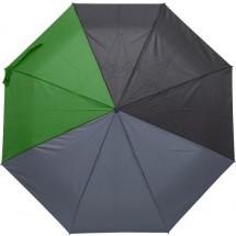 Regenschirm Quarter aus Pongee-Seide - Grün