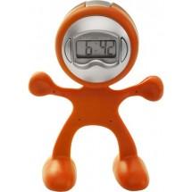 Tischuhr Magic Men - Orange