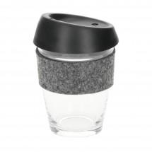 "Glaskaffeebecher ""Cristallo"", small - transparent"