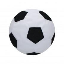 """Spielball """"Soft-Touch"""", small - weiß/schwarz"""
