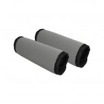 Einkaufswagenschutz Set, grau