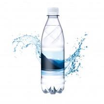 Tafelwasser, 500 ml, sanft prickelnd (Flasche Budget)