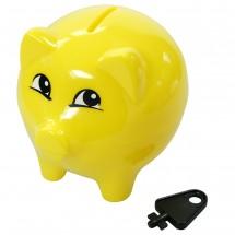 """Spardose """"Piggy"""", gelb"""