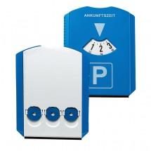 """Parkscheibe """"Prime"""" mit Chips, blau/weiß"""