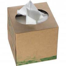 Taschentuchbox 3-lagig Alassio - braun