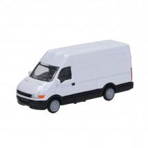 "Miniatur-Fahrzeug ""Lieferauto"", weiß -"