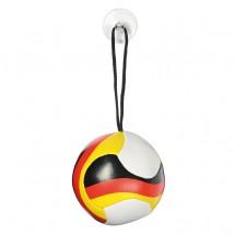 "Softball ""Nations"" groß, weiß/schwarz/rot/gelb"