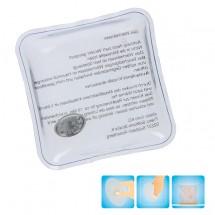 """Gel-Wärmekissen """"Quadrat"""" - transparent"""