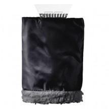 """Eiskratzer """"Vision"""" mit Handschuh, schwarz / transparent"""
