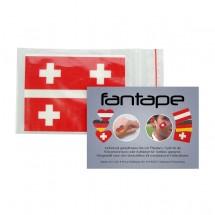"Fantape ""Rechteck"" 4er-Set, Schweiz im Beutel+Einleger"
